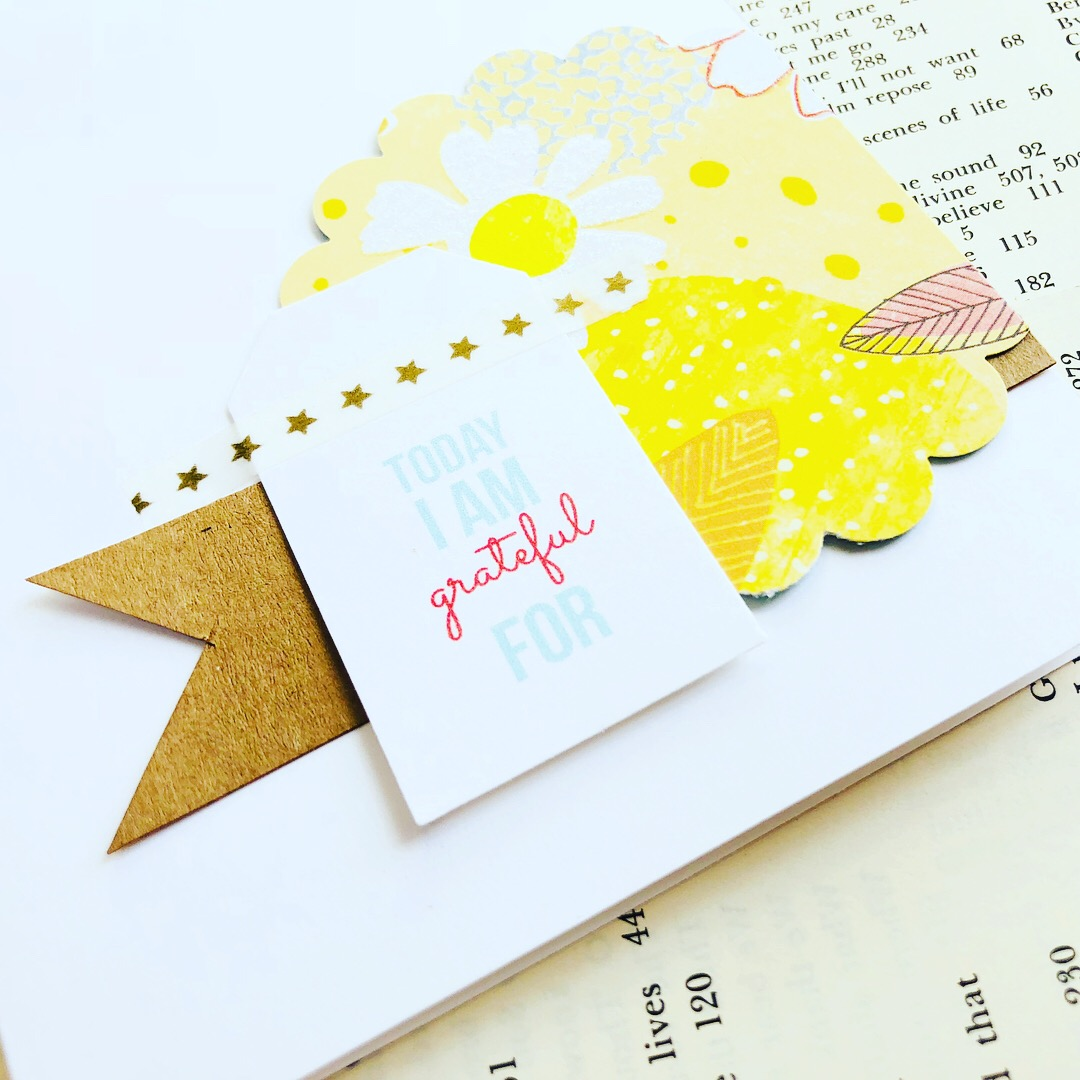 #the100dayproject #clean and simple cards #cardmaking #gratitude #grateful