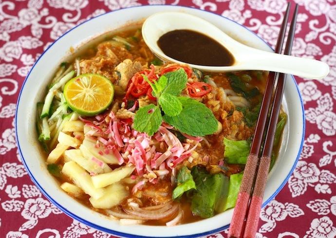 how to make penang asam laksa recipe?