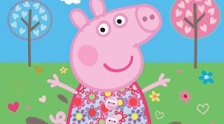 vestido de primavera de peppa pig