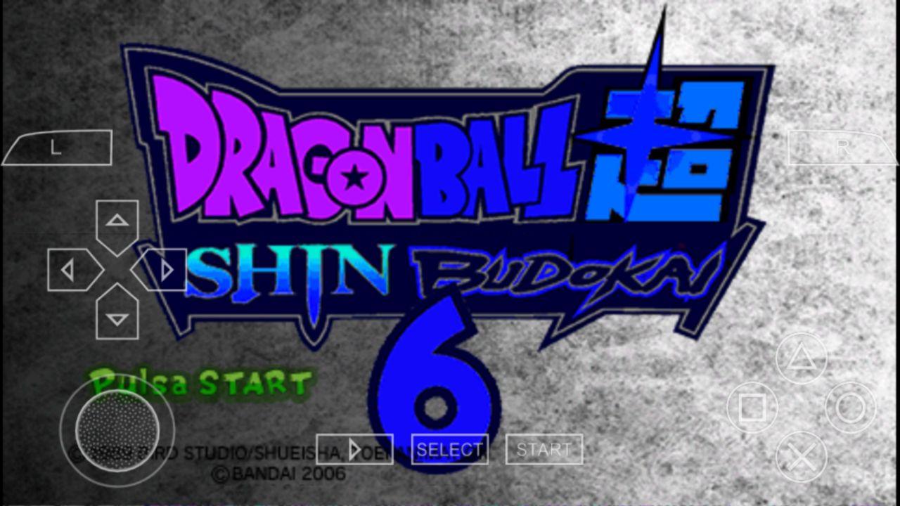 Descarga Dragon Ball Z Shin Budokai 6 v3 MOD Para Android