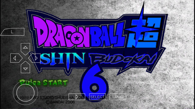 Descarga Dragon Ball Z Shin Budokai 6 V3 MOD Para Android - Smartphone o Tablet
