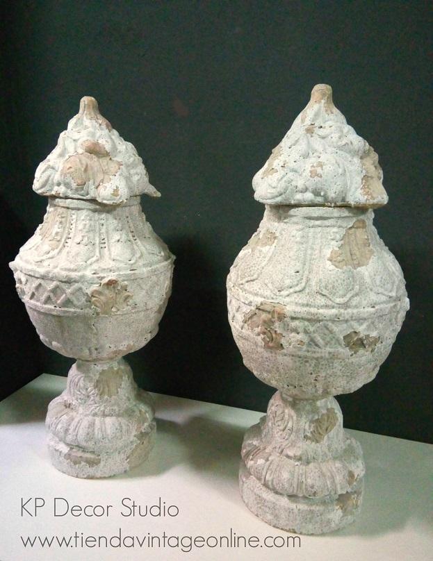 Comprar jarrones de terracota antiguos