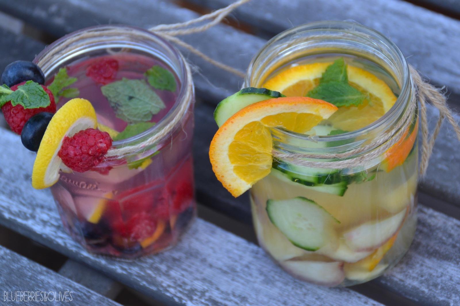 Aguas infusionadas con frutas 2
