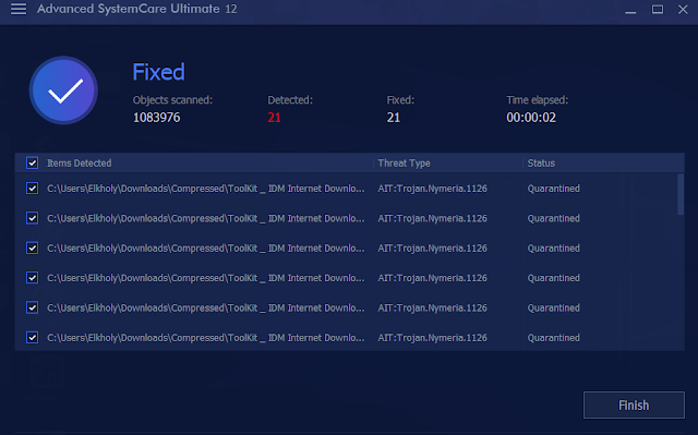 برنامج Advanced SystemCare Ultimate 12.0.1.92