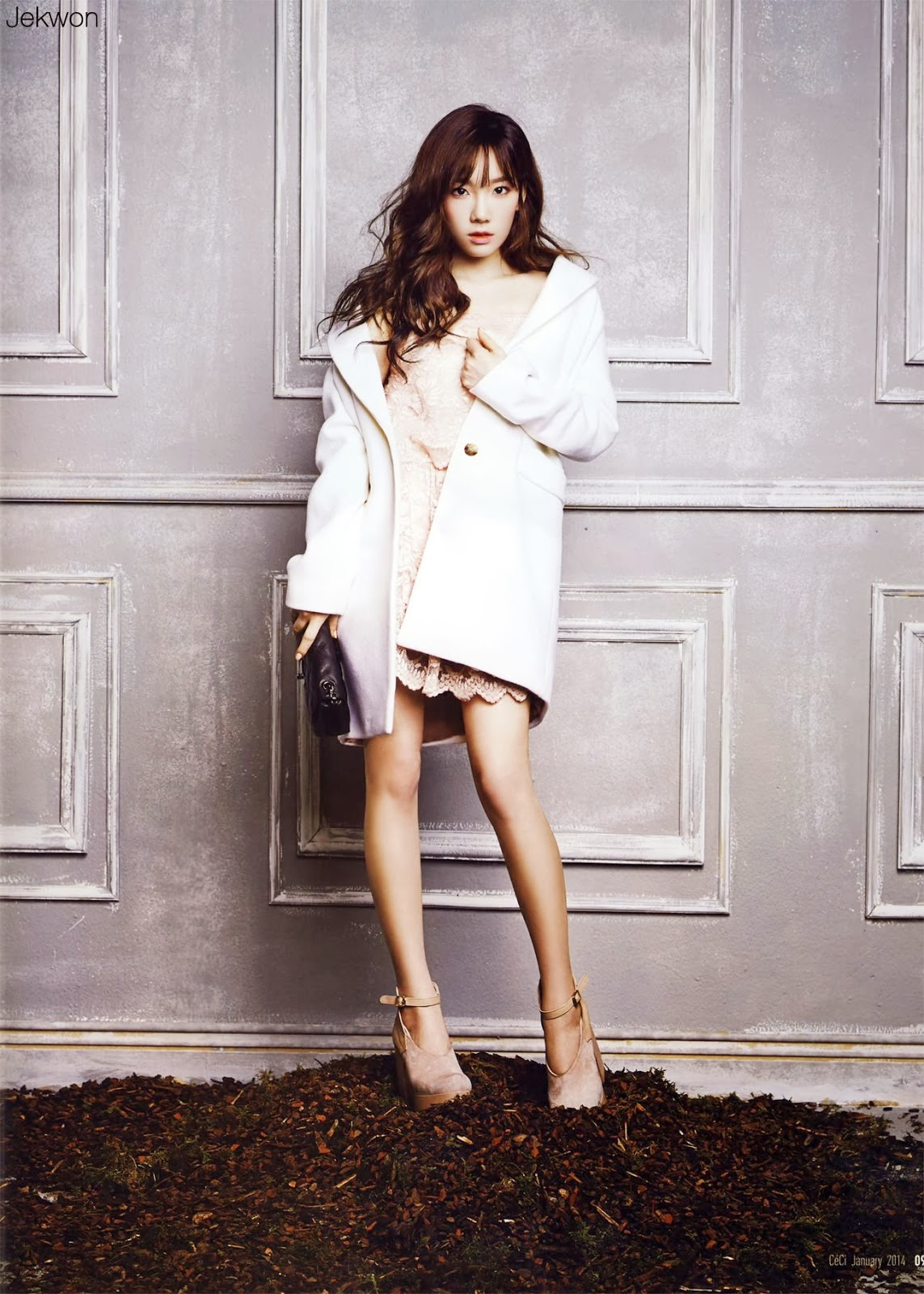 SNSD Taeyeon - CéCi Magazine January 2014 Issue Scans ...