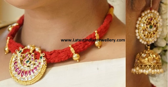 Red Thread Dori Necklace