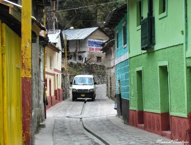 Raggiungendo Huancayo