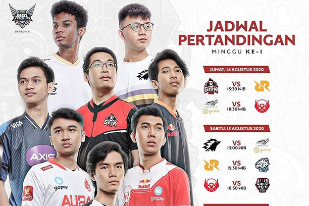 Jadwal MPL ID Season 6