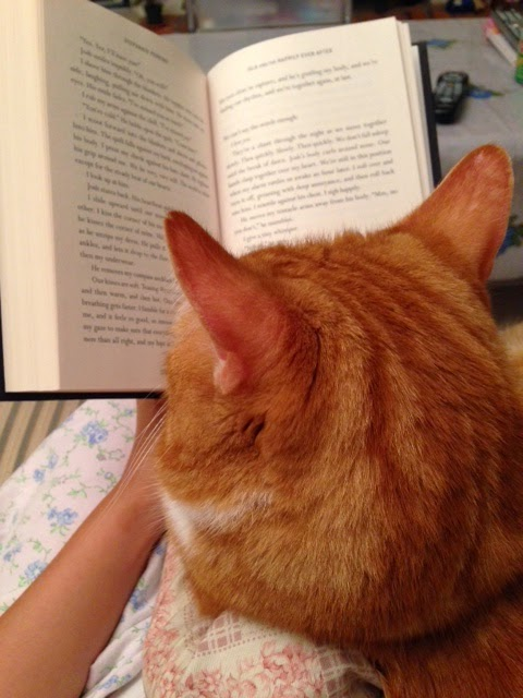 Ripple and I reading