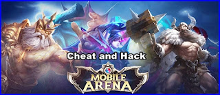 cara cheat mobile arena