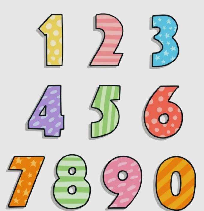 Melukis angka dan garis