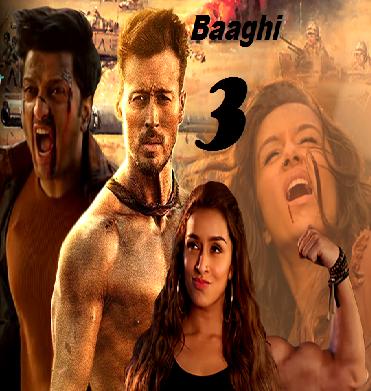Baaghi 3 (2020) Hindi Movie 720p HDRip 900MB ESubs Download