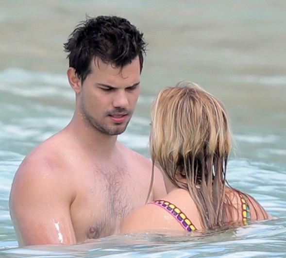 Billie Lourd Taylor Lautner Vacation