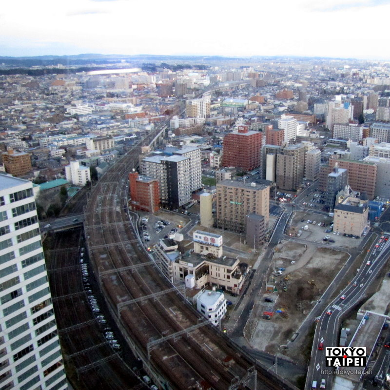 【AER展望Terrace】從31層樓的免費展望台 看仙台市壯觀的日夜景