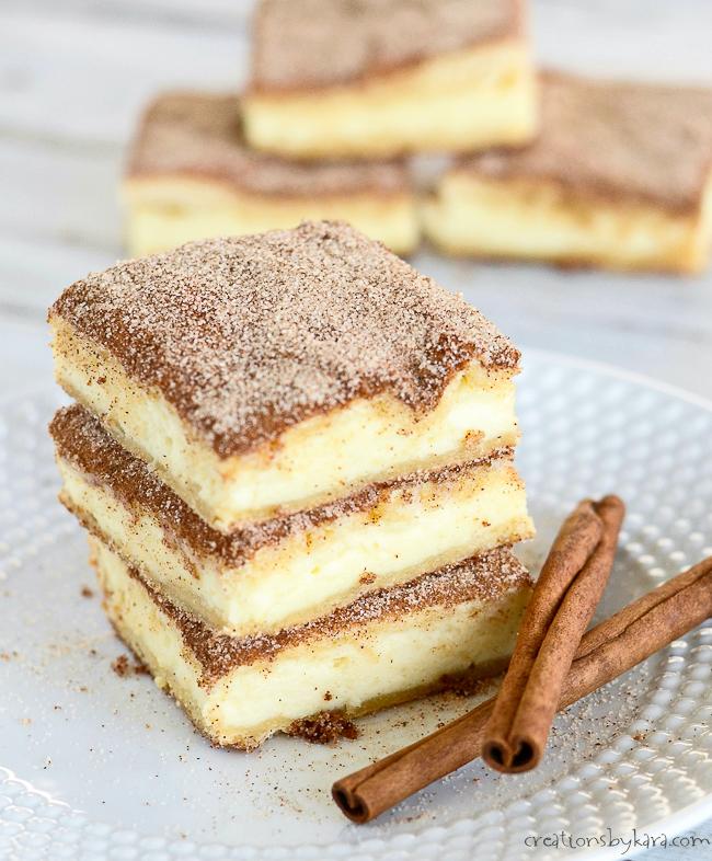 #Churro #Cheesecake #Bars