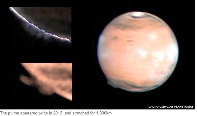 Nem találják a rejtélyes Mars folt-okát