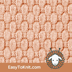 Knit Purl 55: Puffy Basketweave  | Easy to knit #knittingstitches #knittingpattern