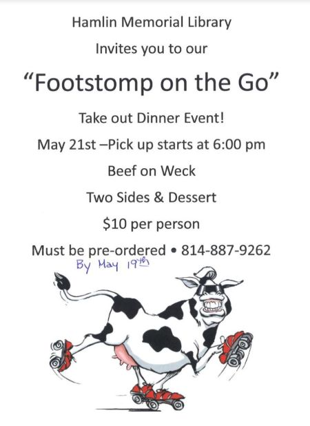 5-21 Hamlin Memorial Library Footstomp To Go