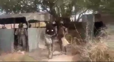"Nigerians Soldiers Tags Sambisa Forest As ""Local Dubai"" As They Discover Weapons"