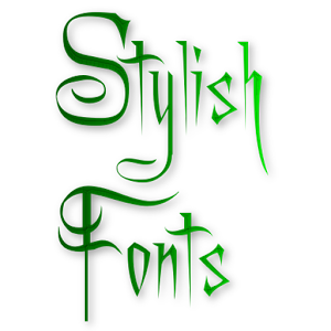Fixed line stylish Text maker 90 styles
