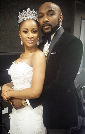 Banky W And Adesua Etomi Looks More Like A Couple In This Photo