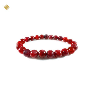 Vòng tay đá Ruby