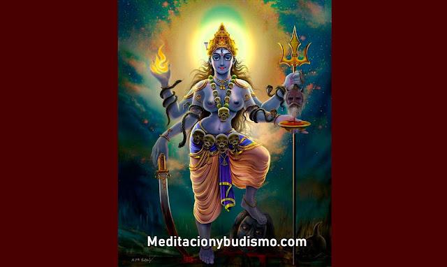 Kali, la Madre Oscura ¿Diosa del bien o del mal?