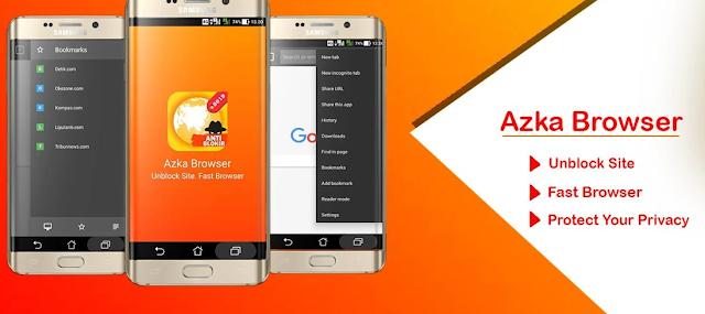 Azka Browser Anti Blokir