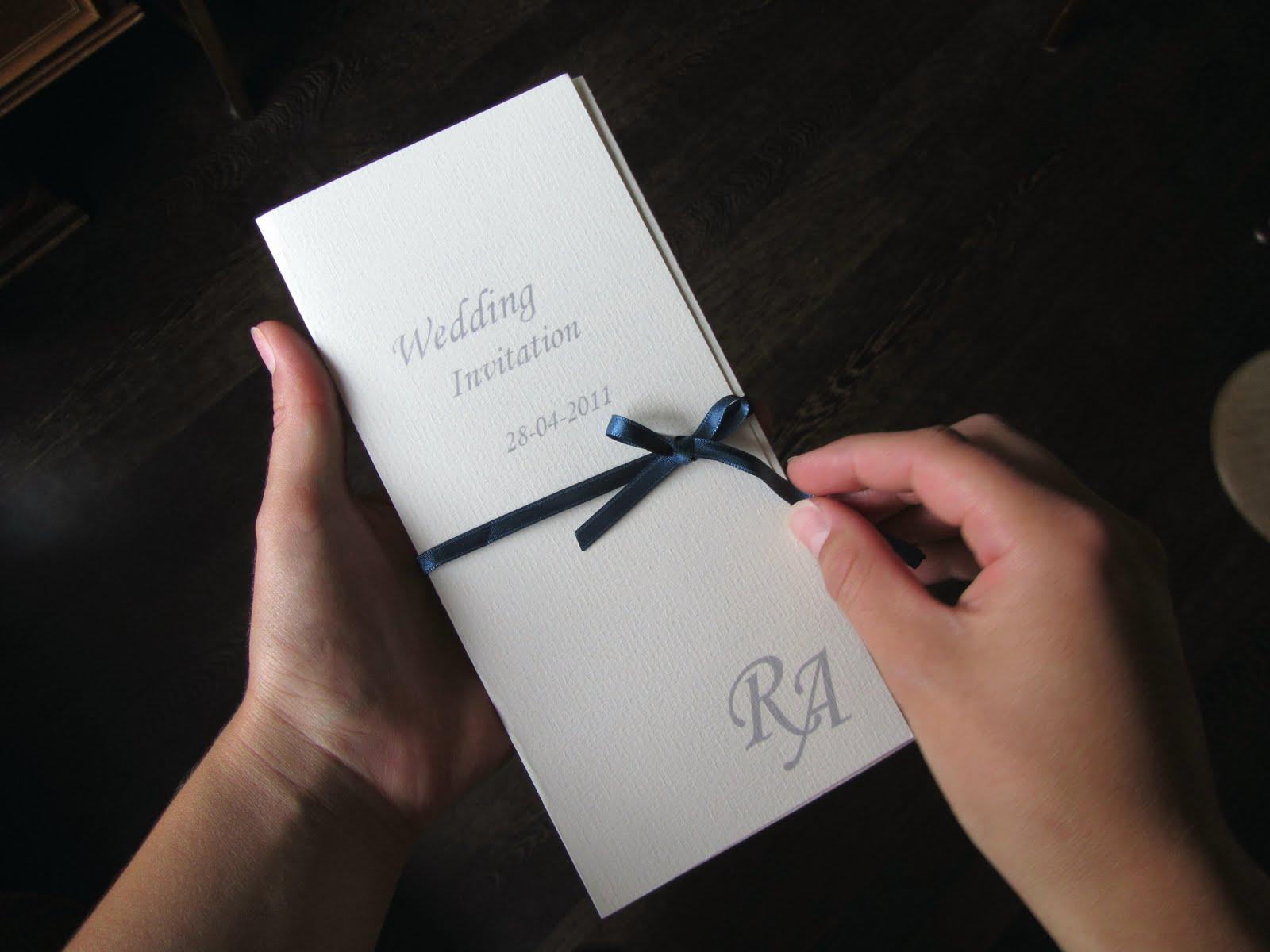 Wedding Invitation Cover Page Design