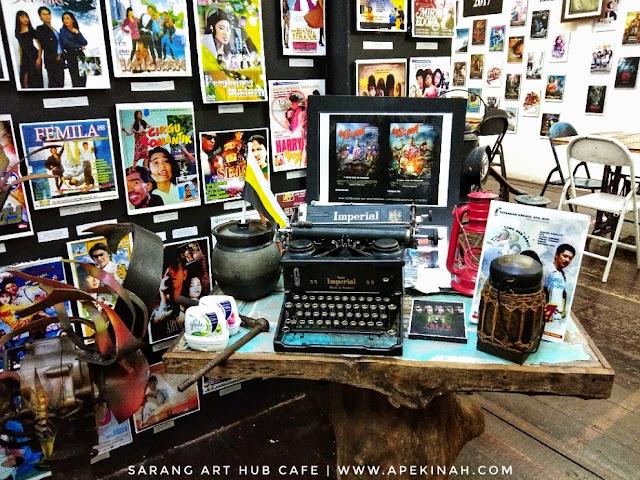Sarang Art Hub Cafe Di Tanjung Malim