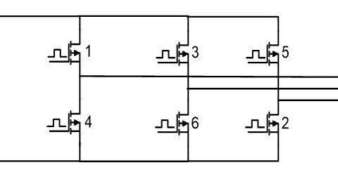 180-DEGREE THREE PHASE INVERTER WITH SIMULATION