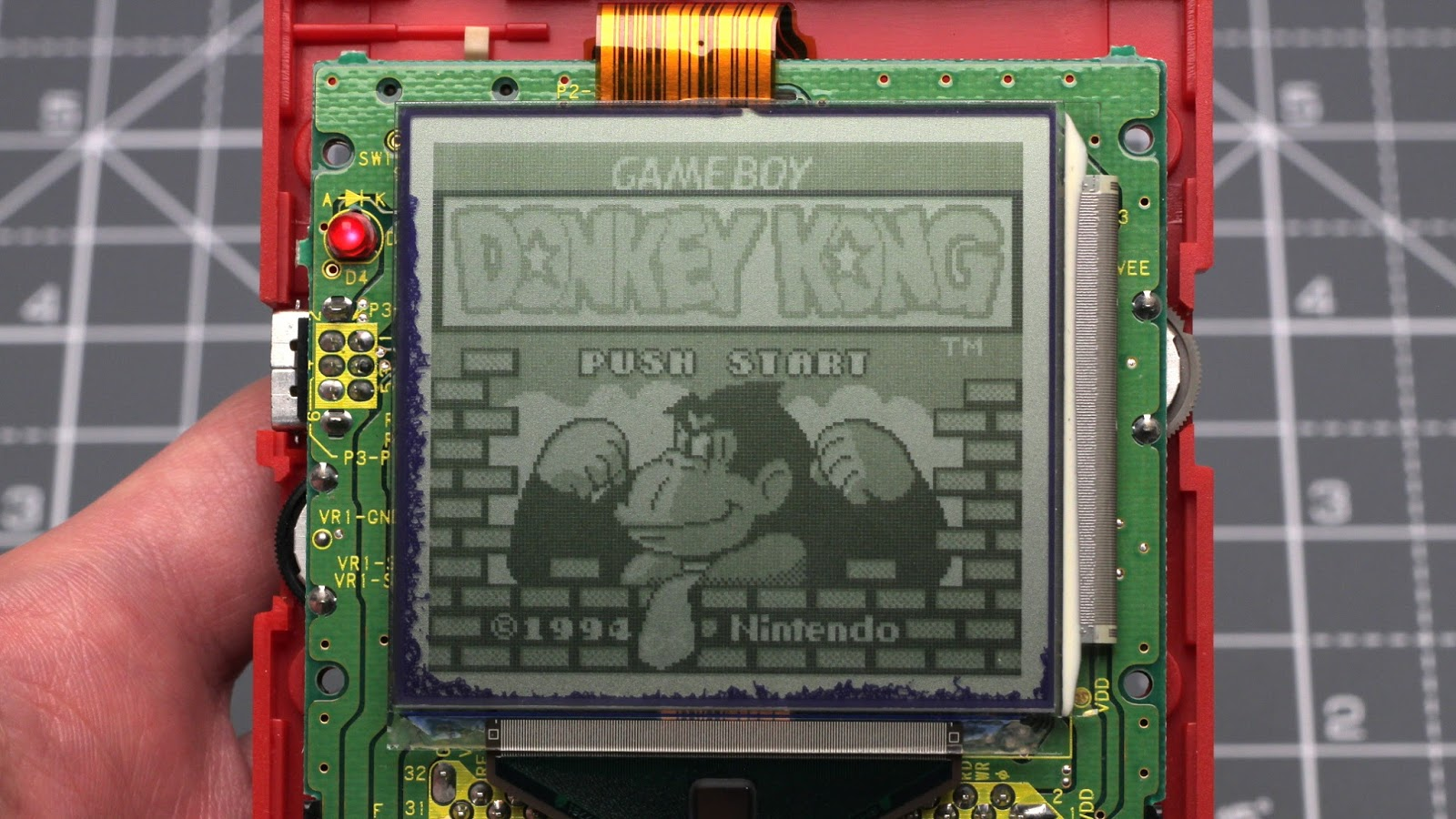 daftmike's blog: 10 Minute Mod: GameBoy Screen Rot Fix(?)