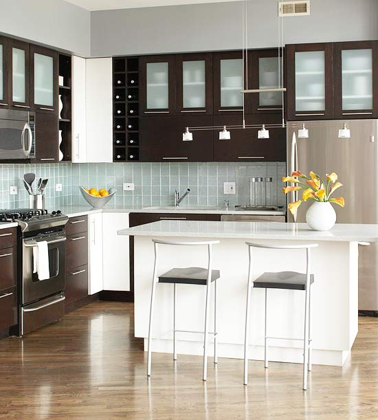 Small Kitchen Space Ideas: New Home Interior Design: Ideas For Kitchen Space Savers