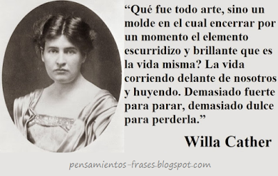 frases de Willa Cather
