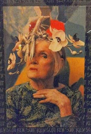 Donne protagoniste del Novecento - Susan Nevelson wearing Eleonora Bruno headpiece - Galleria del Costume Firenze - Nov 2013