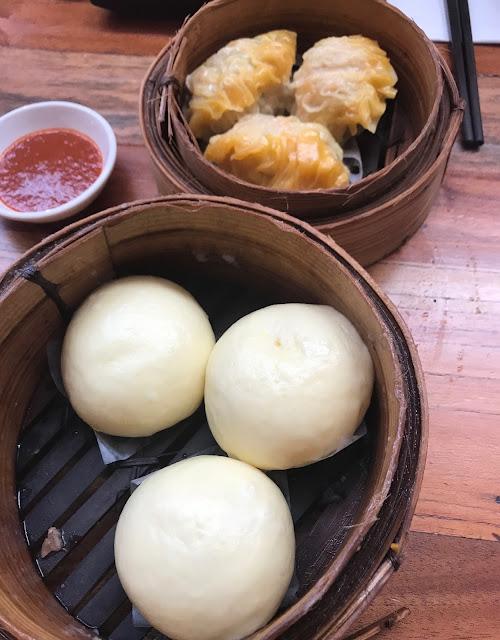 Secret Kitchen Express, Doncaster, shark fin dumplings, custard buns