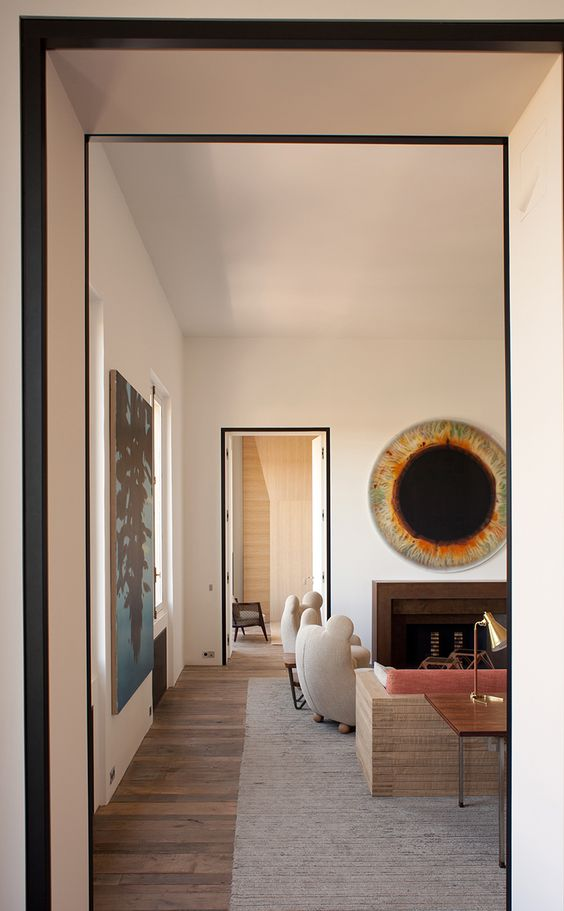 Pierre Yovanovitch | Interior decor | via Oracle Fox | Allegory of Vanity