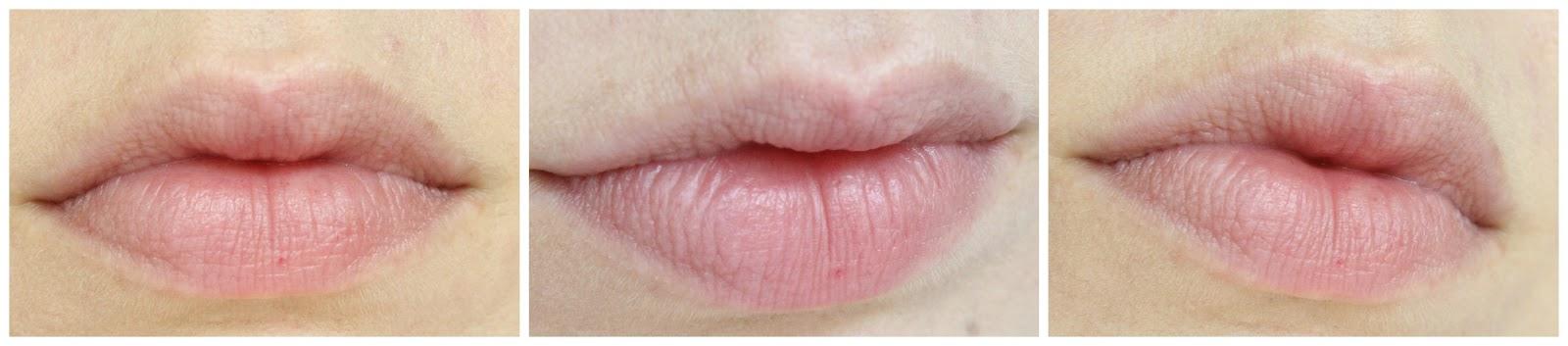 Lippen ohne Lip Gloss