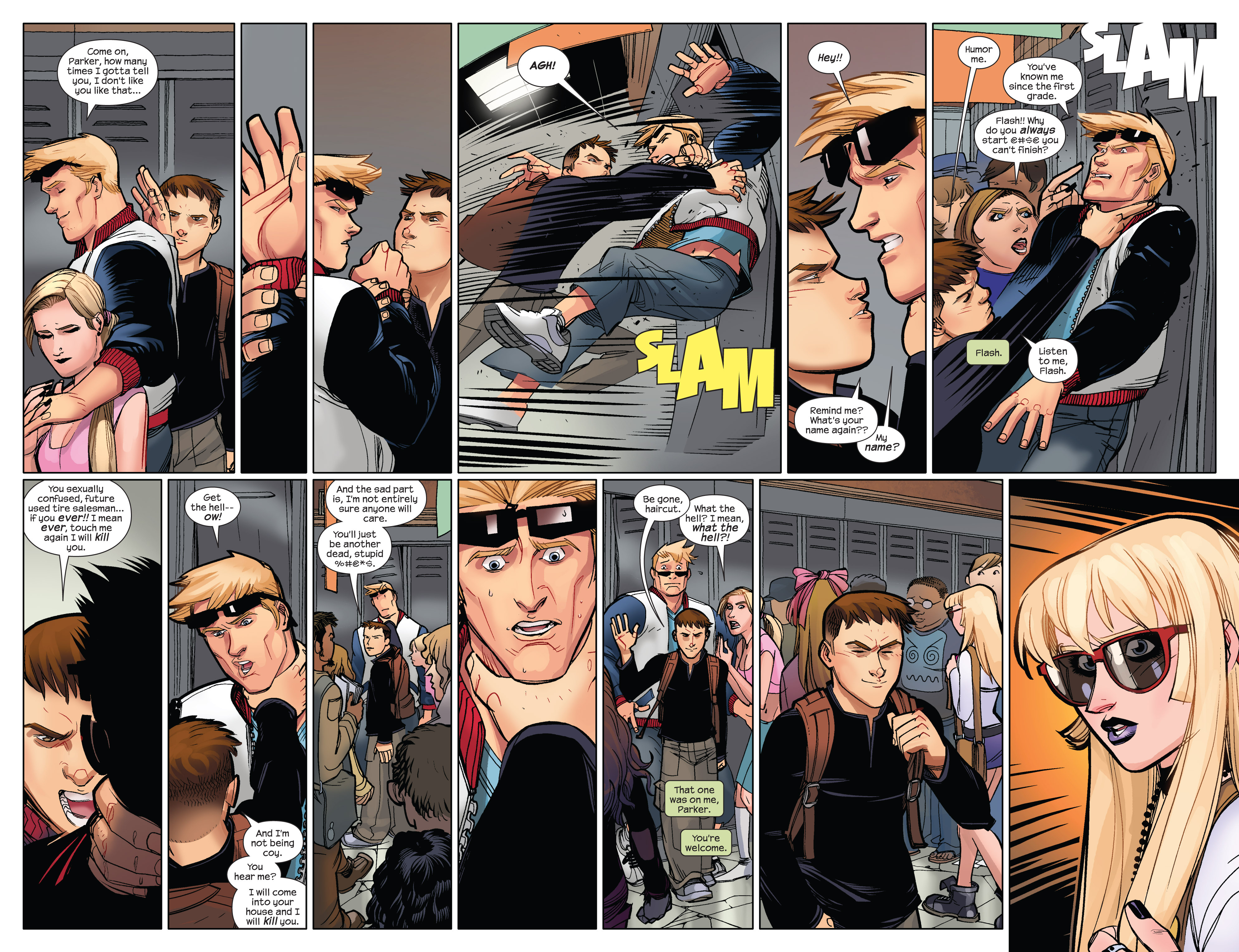 Read online Ultimate Spider-Man (2009) comic -  Issue #12 - 16