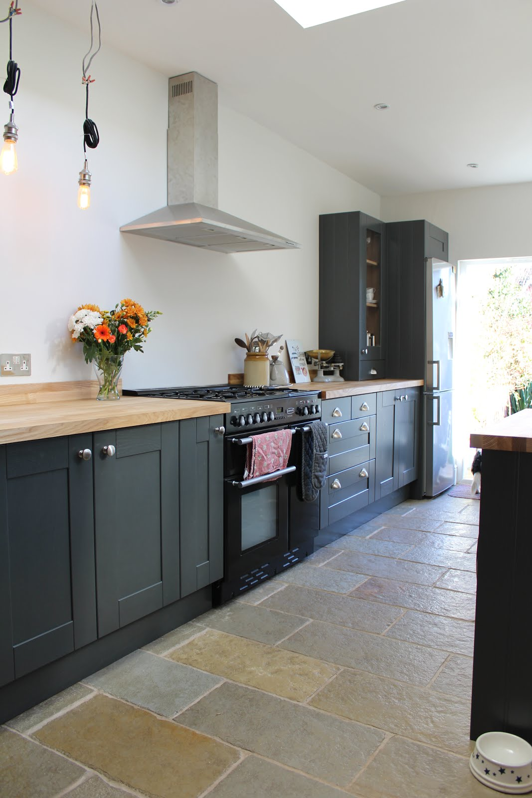 Farrow and Ball Strong White in Kitchen