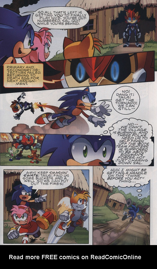 Read online Sonic The Hedgehog comic -  Issue #239 - 29