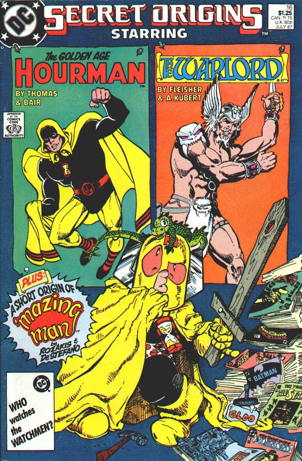Read online Secret Origins (1986) comic -  Issue #16 - 1