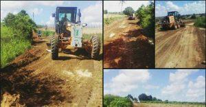 Prefeitura de Riachão do Poço\PB, realiza obras de infraestrutura na zona rural