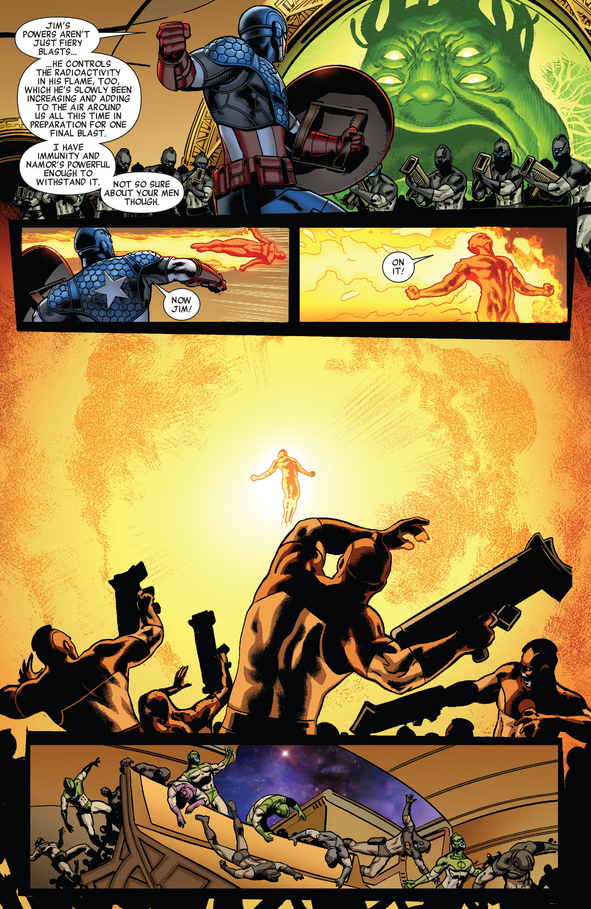 Read online All-New Invaders comic -  Issue #5 - 12