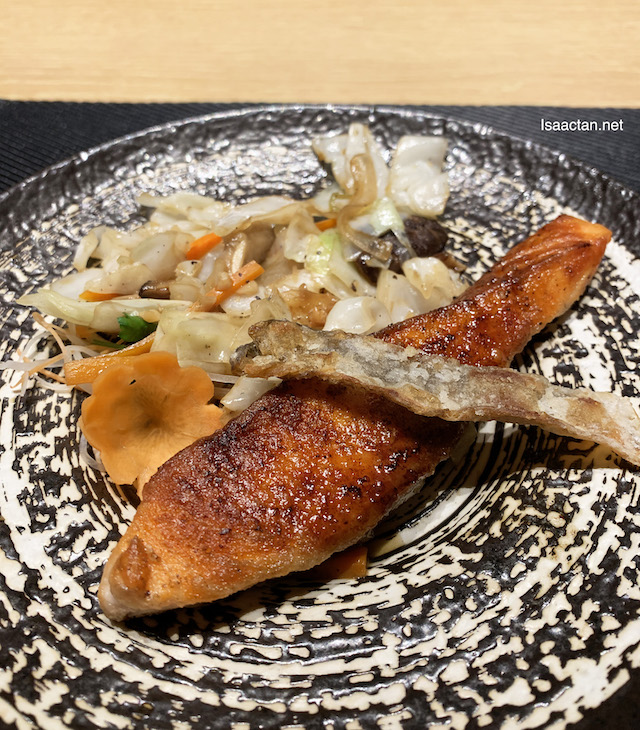 Teppanyaki Grilled Salmon