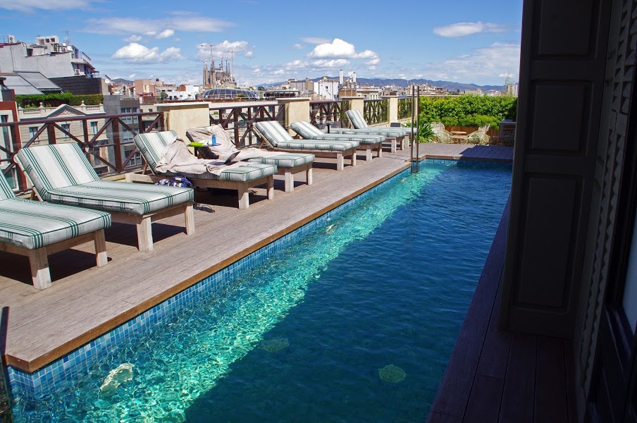 Cotton House Hotel Barcelona Swimming Pool ...