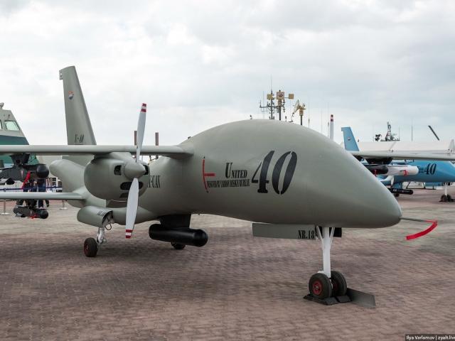 الجزائر تختبر طائرة إماراتية بدون طيار