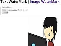 Cara Membuat Watermark Gambar / Image Mudah dan Sederhana menggunakan PHP Script Gratis Tinggal Siap Pakai