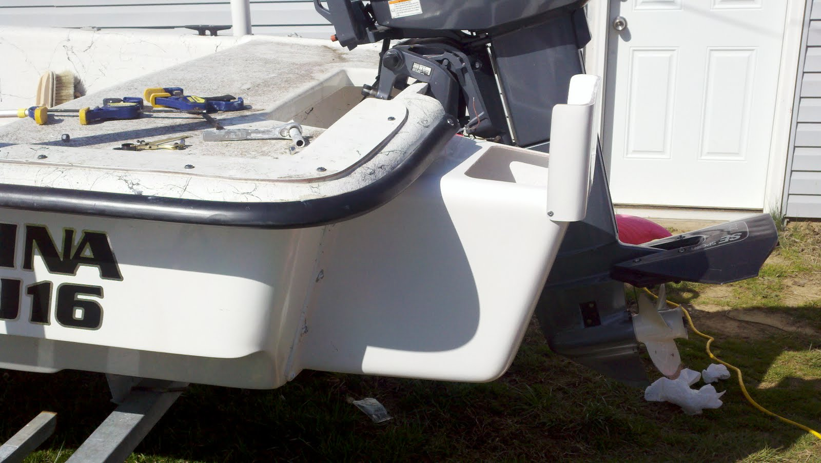 merky waters: livewell and cooler on my skiff part i
