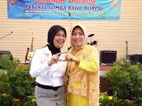 Lagi: Ibu Ruliyanti menjadi juara 3 Pop Singer pada Pekan Seni Korpri Kota Depok 2018